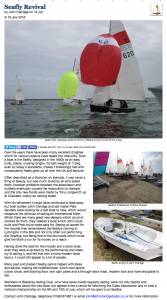"The ""Yachts and Yachting"" News Article"