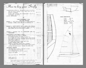 original price list from South Devon Boatbuilders
