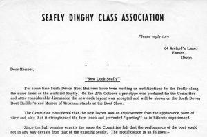 Class Association letter