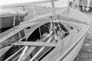 Seafly 59: Original Seafly mast step