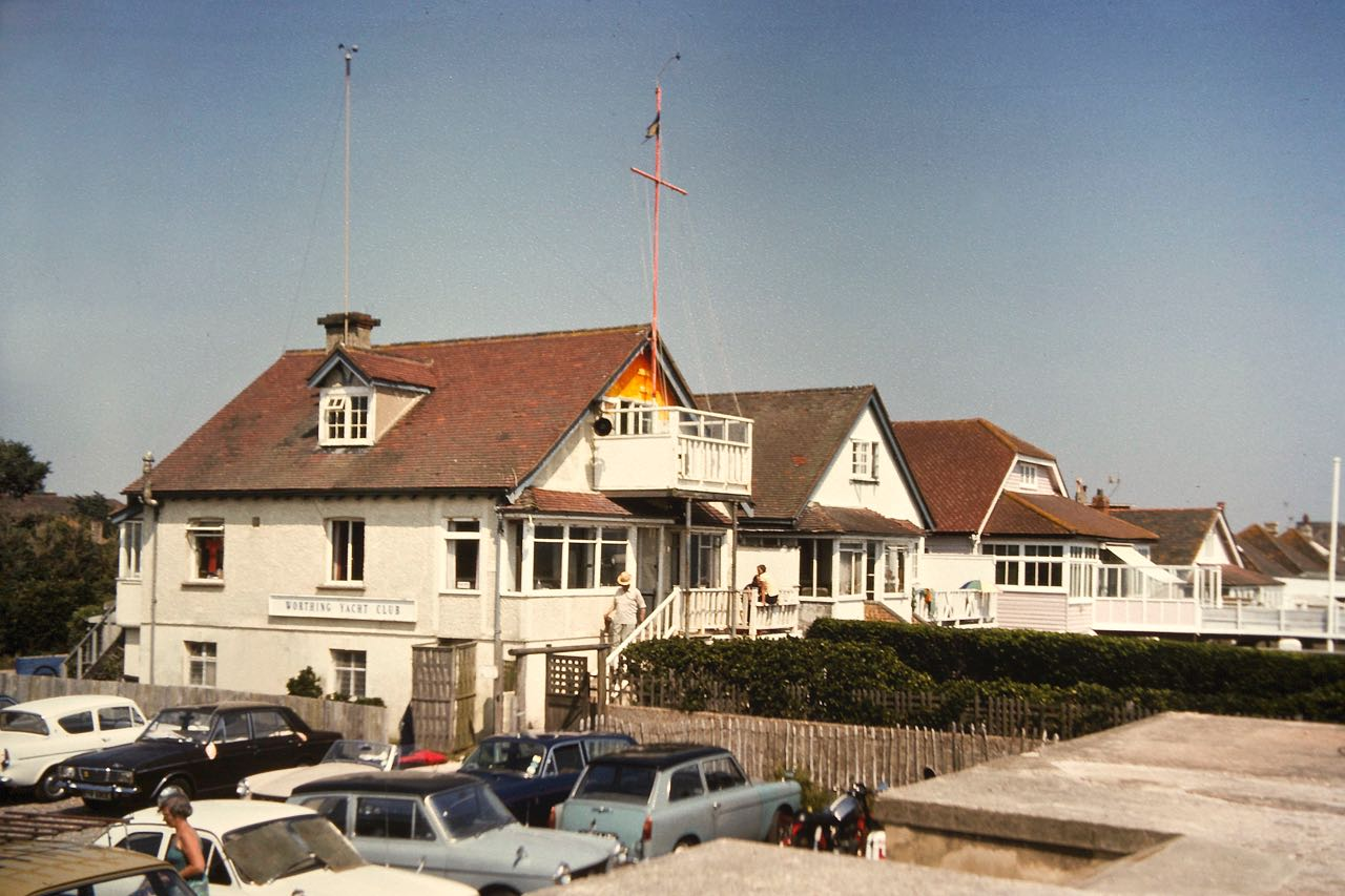 Worthing Y.C., July 75 (photo: P.Fullagar)