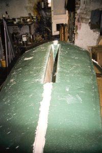 Deck unit - cockpit floor underside