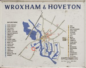 Wroxham map