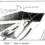 Fig.1: view of the transom