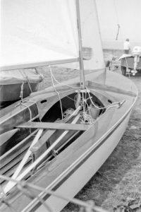 Cockpit and mast step