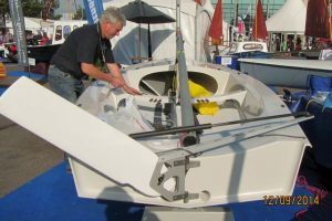 The first Seafly SD (Southampton Boat Show)