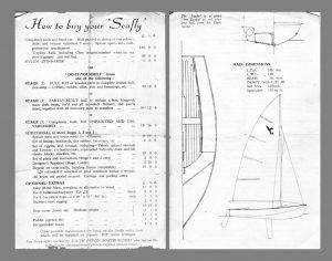 original price list from South Devon Boatbuilders