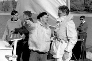 Charles Nicol (sailed a 5o5) and Gurth Kimber