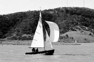 Gurth Kimber sailing C75 Blowfly