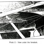 Fig.2: view under the foredeck