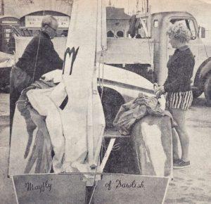 Mayfly 1961 National championships at Torbay